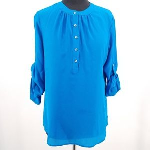Banana Republic Silk Blouse Medium
